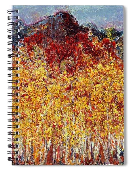 Autumn In The Pioneer Valley Spiral Notebook