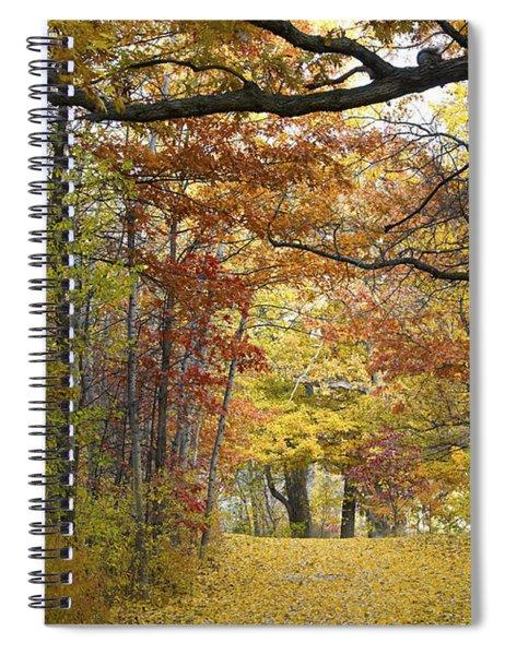 Autumn Nature Trail Spiral Notebook