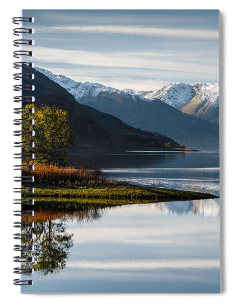 Autumn On Loch Leven Spiral Notebook