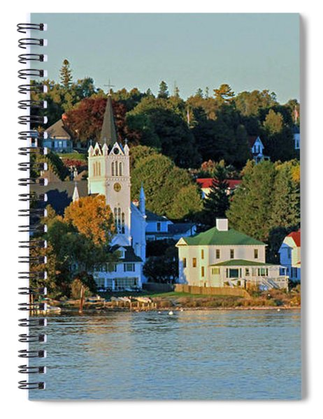 Autumn On Mackinac Island Spiral Notebook
