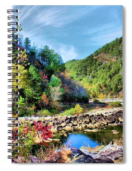 Autumn On The Ocoee Spiral Notebook