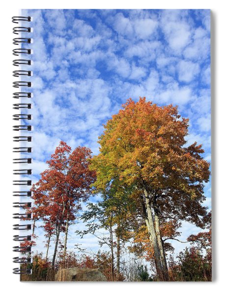 Autumn Perfection Spiral Notebook