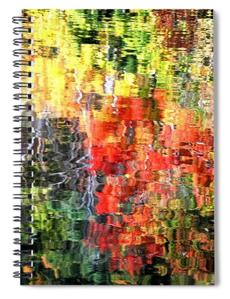 Autumn Reflections Spiral Notebook