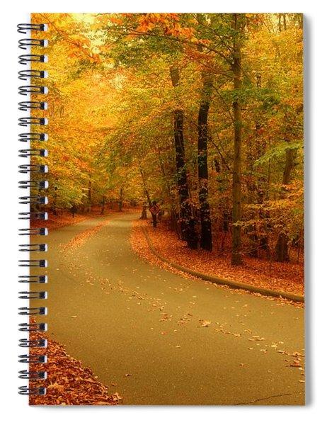 Autumn Serenity - Holmdel Park  Spiral Notebook