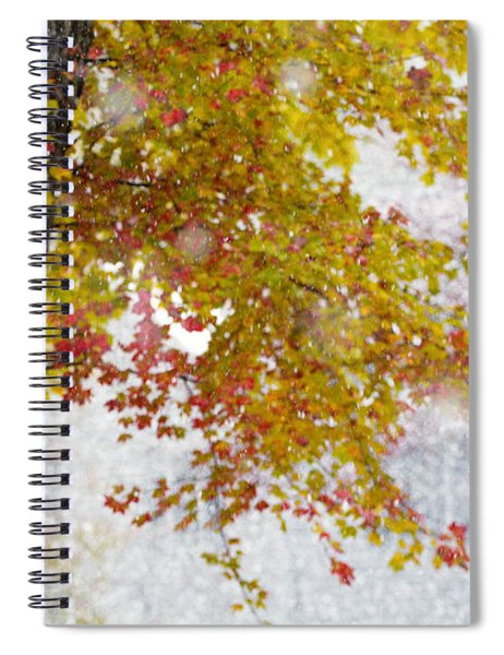 Autumn Snow Spiral Notebook