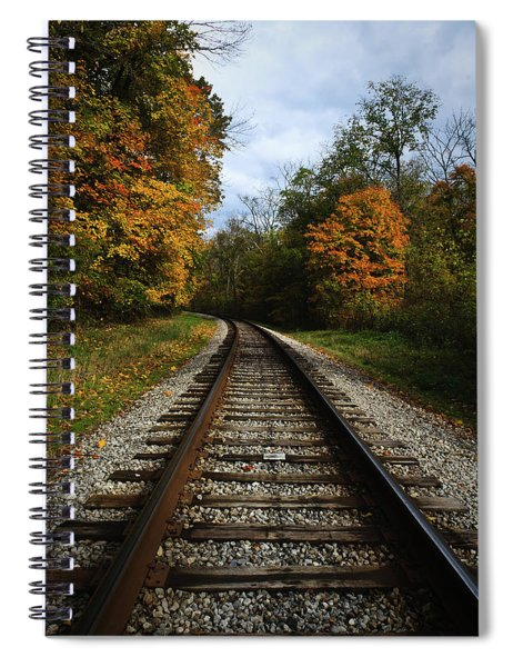 Autumn View Spiral Notebook