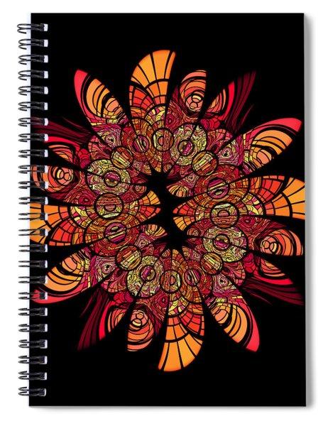 Autumn Wreath Spiral Notebook