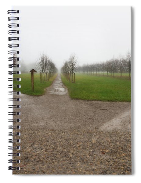 Autumnal Countryscape Spiral Notebook