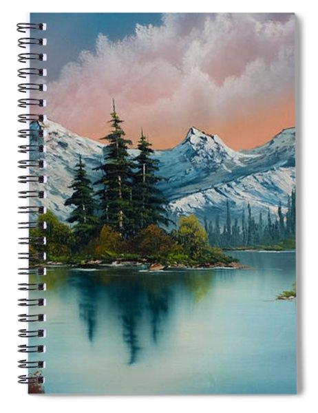 Autumn's Glow Spiral Notebook