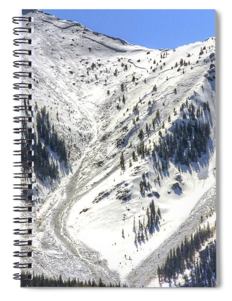 Avalanches In Colorado Spiral Notebook
