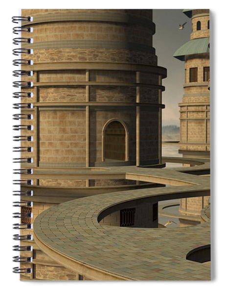 Aviary Spiral Notebook