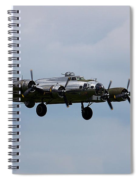 B-17 Yankee Lady Spiral Notebook