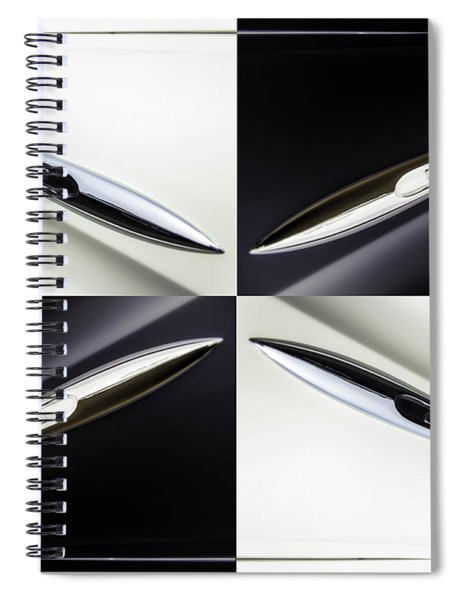 B And W Chevy Spiral Notebook