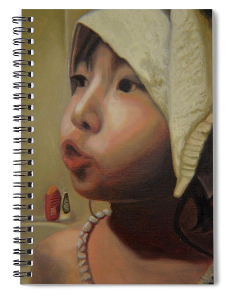 Baby Bath Mama Spiral Notebook