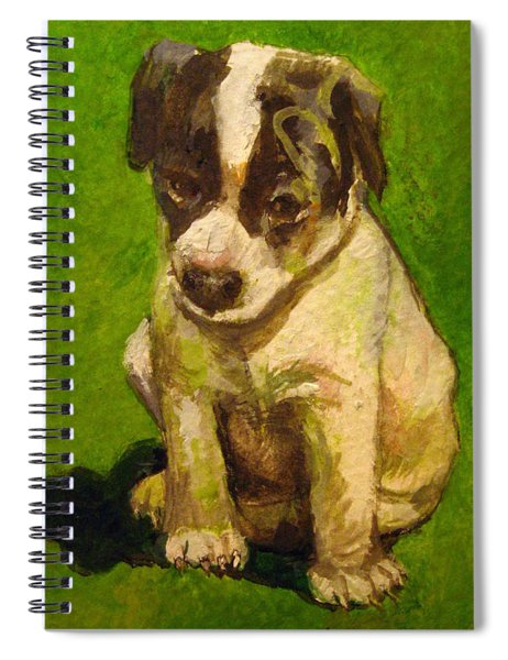 Baby Jack Russel Spiral Notebook