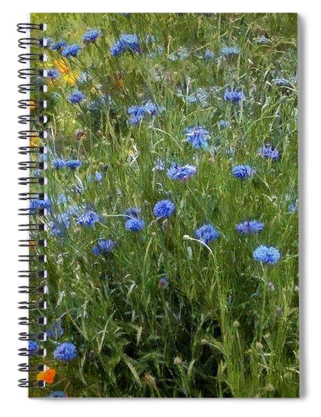 Bachelor's Meadow Spiral Notebook