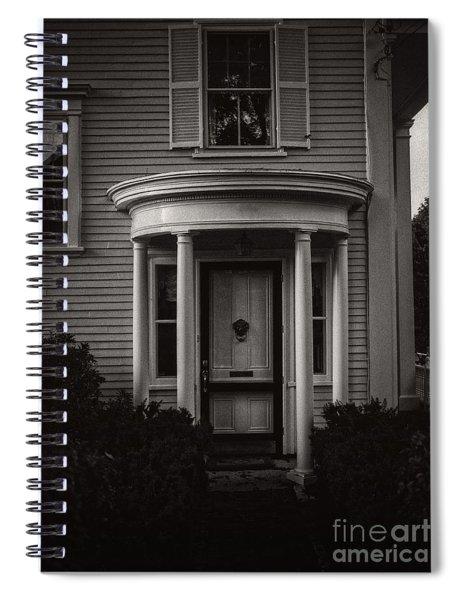 Back Home Bar Harbor Maine Spiral Notebook