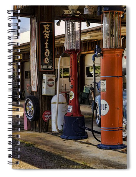 Back In The Day Spiral Notebook