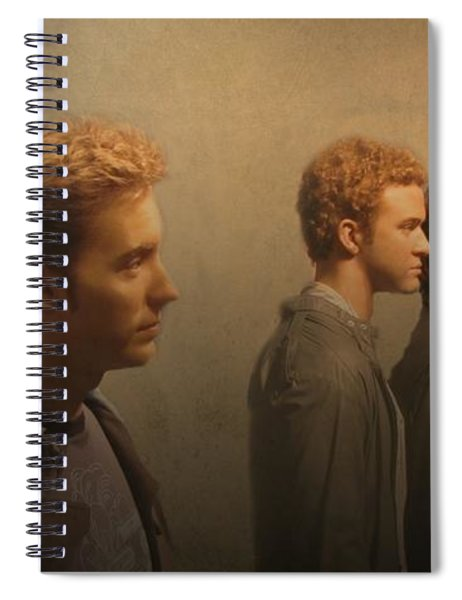 Back Stage With Nsync Spiral Notebook