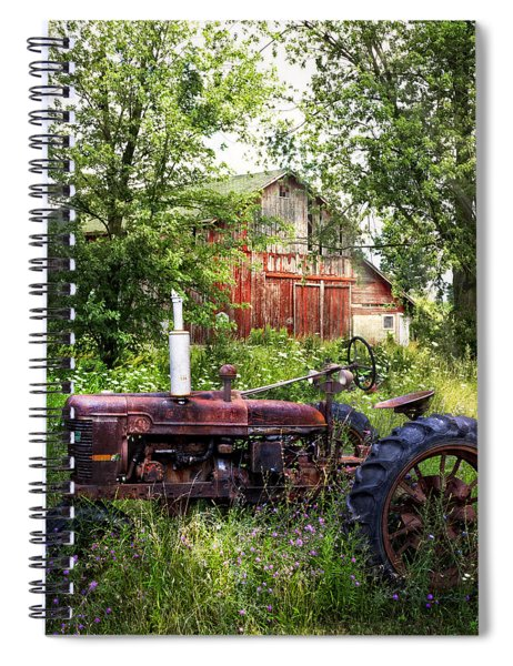 Back To Nature Spiral Notebook