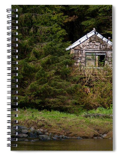 Backwoods Shack Spiral Notebook