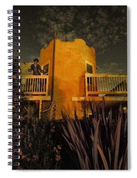 Backyard Castle Spiral Notebook