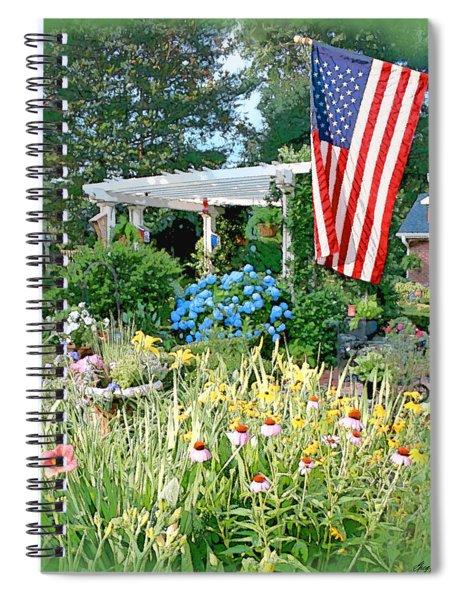 Backyard Paradise Spiral Notebook