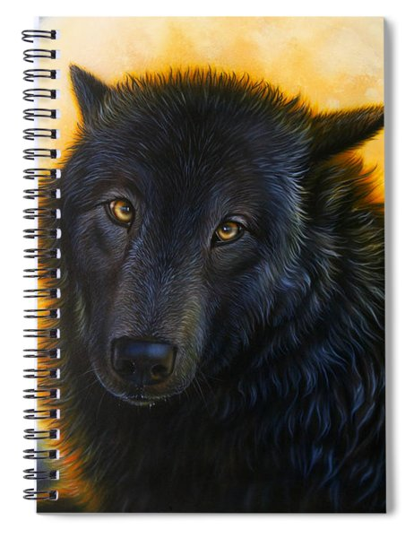 Bad Girls Have Halos Too Spiral Notebook
