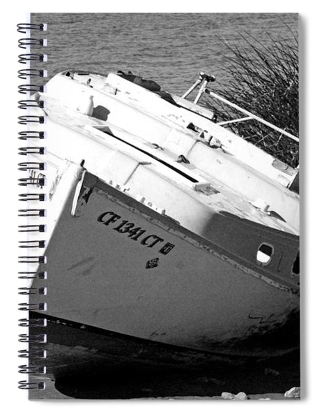 Bad Sail Day Spiral Notebook