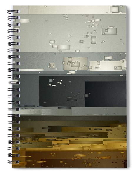 Bad Weather Spiral Notebook
