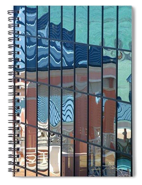 Bahamas Beach Pavilion Spiral Notebook
