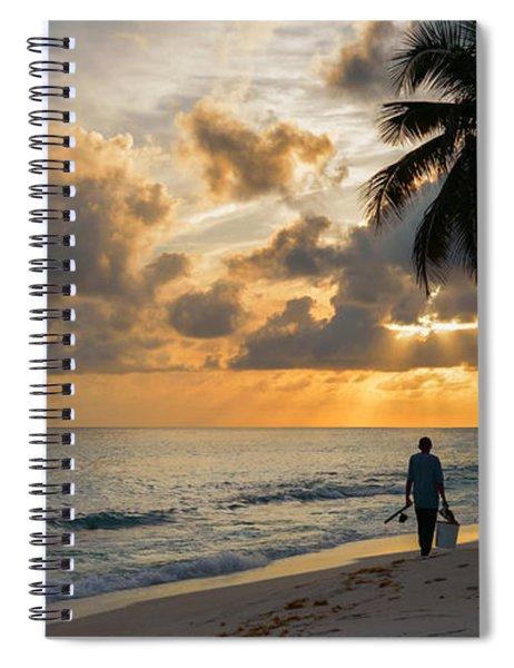 Bajan Fisherman Spiral Notebook