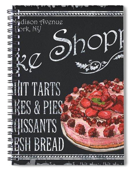 Bake Shoppe Spiral Notebook