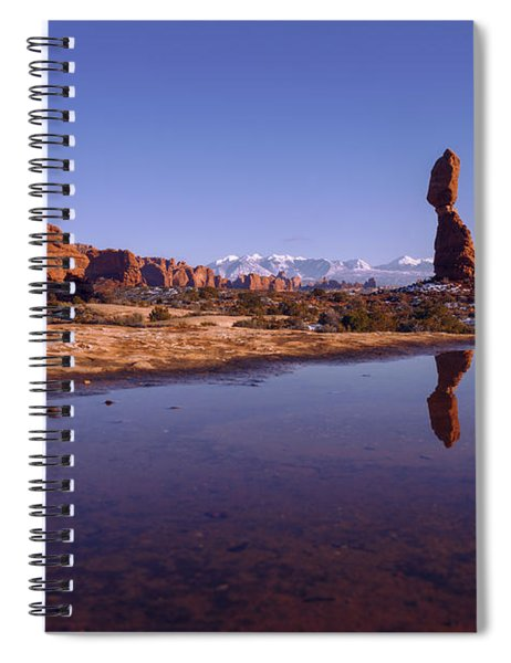 Balanced Reflection Spiral Notebook
