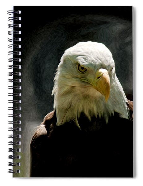 Bald Eagle Giving You That Eye Spiral Notebook
