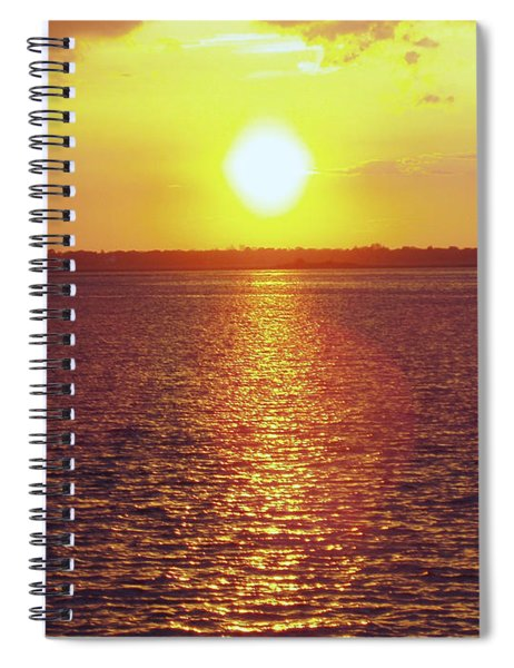 Ball Of Fire Spiral Notebook