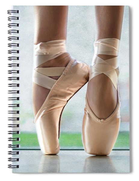 Ballet En Pointe Spiral Notebook