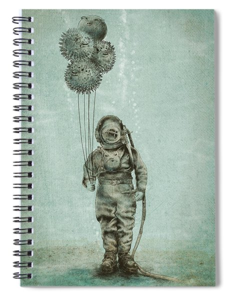 Balloon Fish Spiral Notebook by Eric Fan