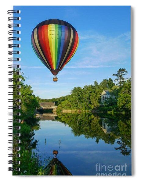 Balloons Over Quechee Vermont Spiral Notebook