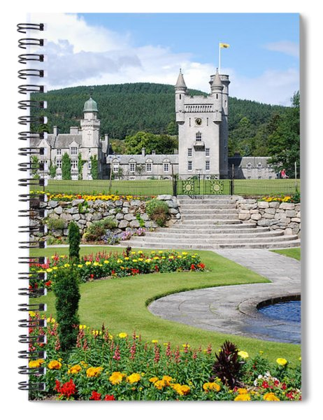 Balmoral Castle In Summer Spiral Notebook