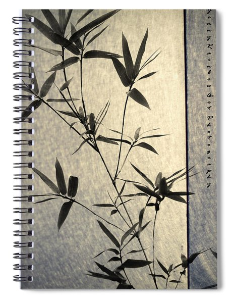 Bamboo Leaves Spiral Notebook