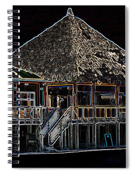 Bamboo Willies In Neon Spiral Notebook