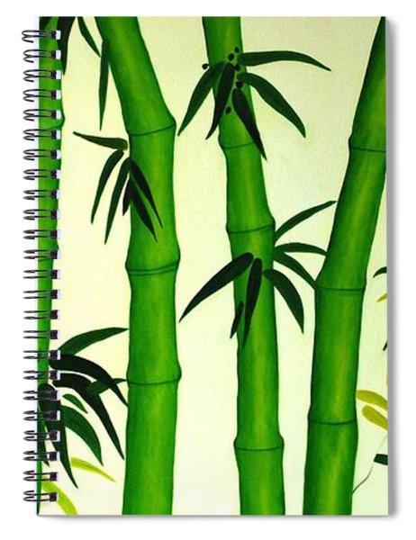 Bamboos Spiral Notebook