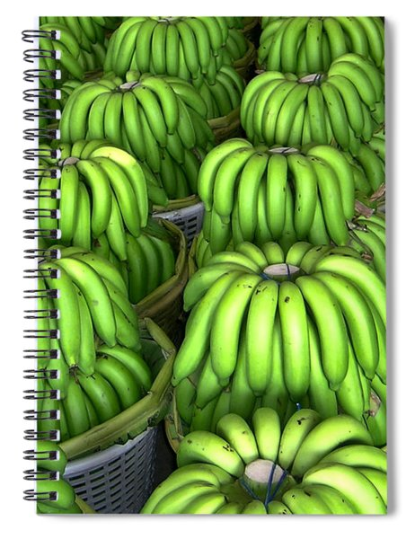 Banana Bunch Gathering Spiral Notebook