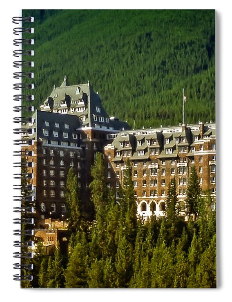 Banff Springs Hotel Spiral Notebook