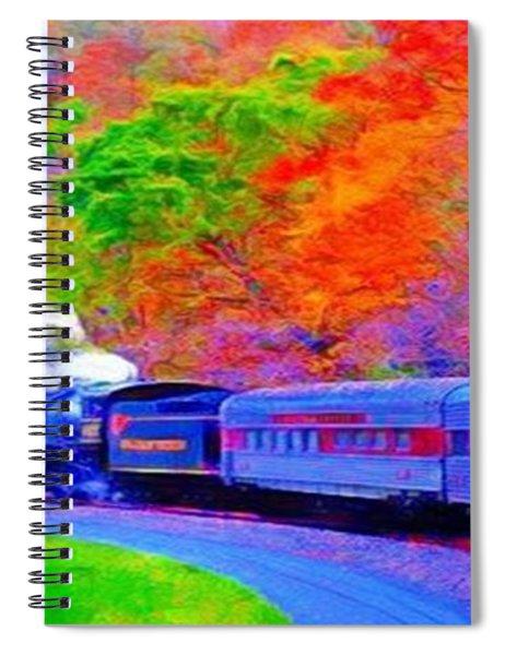 Bang Bang Choo Choo Train-a Dreamy Version Collection Spiral Notebook