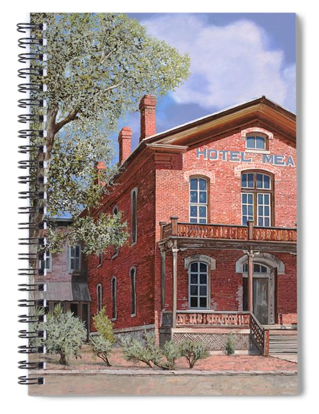 Bannock-montana-hotel Meade Spiral Notebook