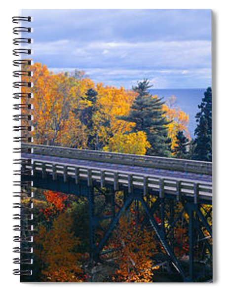 Baptism River Into Lake Superior Spiral Notebook
