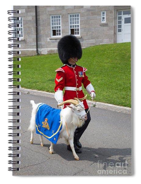 Baptiste The Goat Spiral Notebook