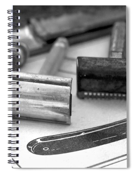 Barber Shop 20 Bw Spiral Notebook